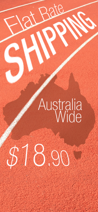 Flat Rate Shipping Australia Wide, only $18.90